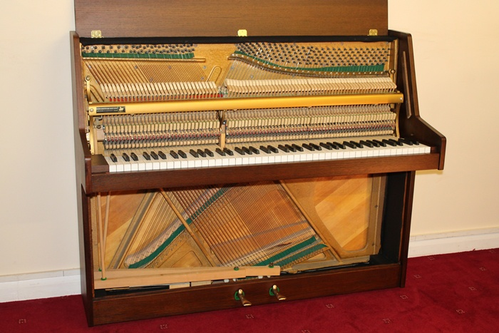 Chappell compact upright horsham piano center for Small upright piano dimensions