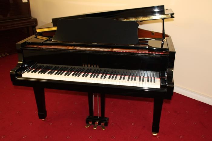 Yamaha c3 grand horsham piano center for Yamaha grand piano sizes